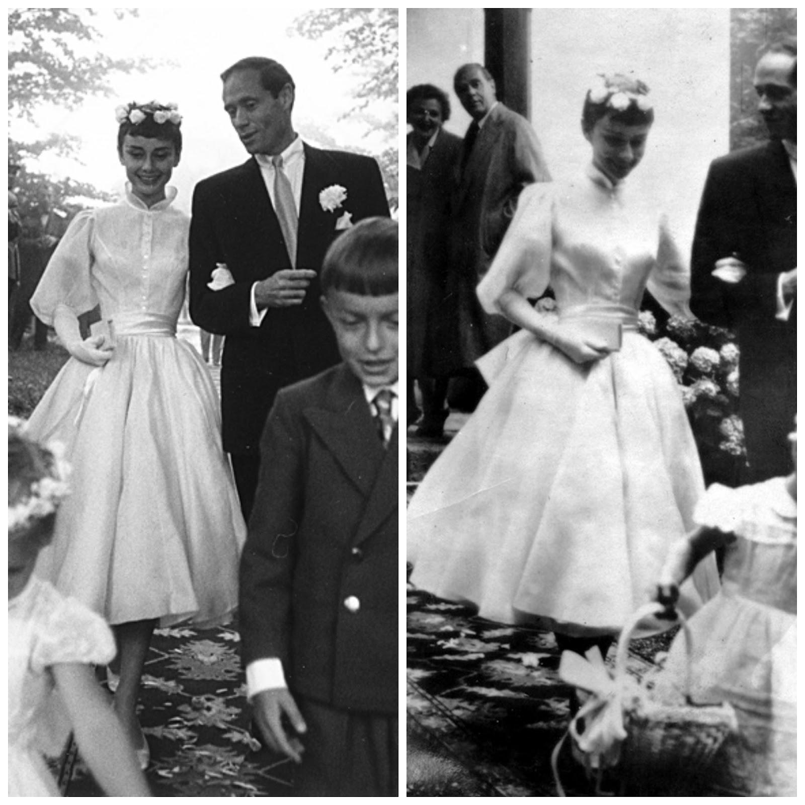 Audrey Hepburn Pixie Cut Wedding