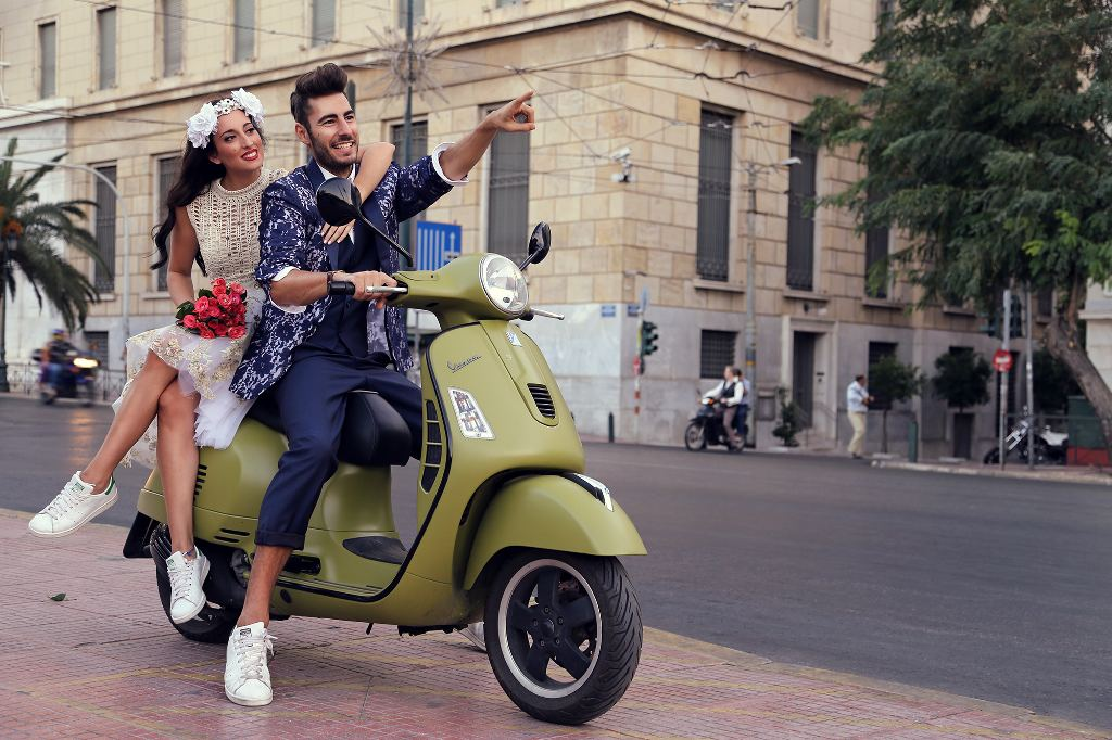 vespa wedding 2