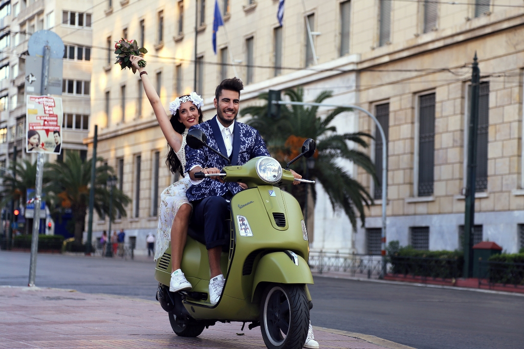 vespa wedding 5