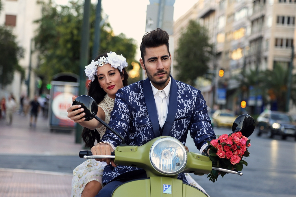 vespa wedding 6