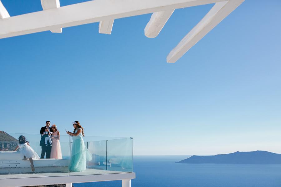 Wedding @ Santorini