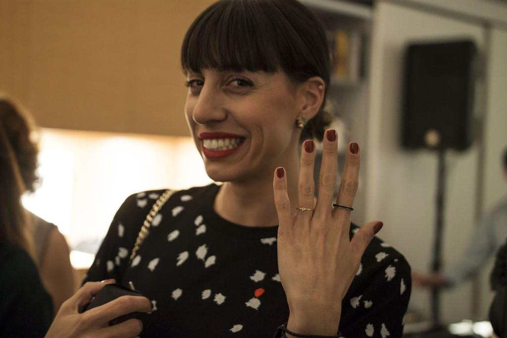 Η Άναϊς Ευριπιώτη της Λα Φετ/La Fête.