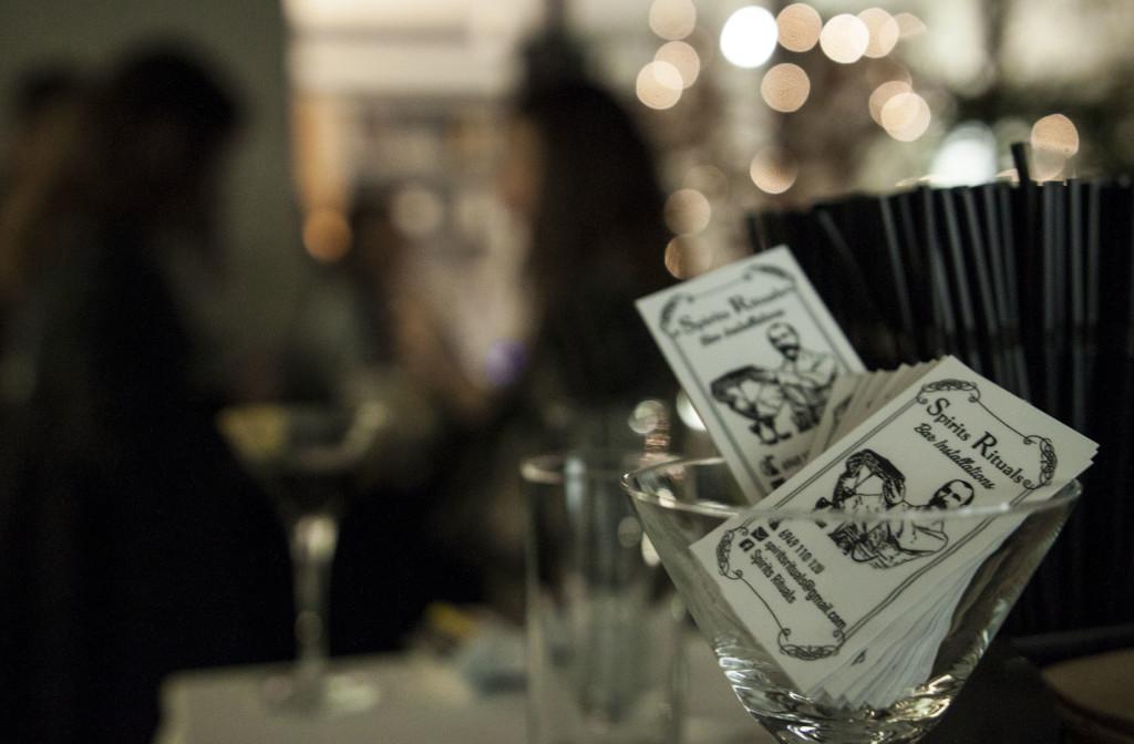 Τα υπέροχα cocktails της βραδιάς είχαν την υπογραφή της Spirits Rituals.