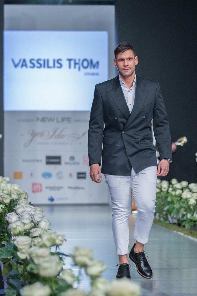 Ο δημοσιογράφος & παρουσιαστής Δημήτρης Ουγγαρέζος, έτοιμος γαμπρός από τον σχεδιαστή Βασίλη Θωμόπουλο