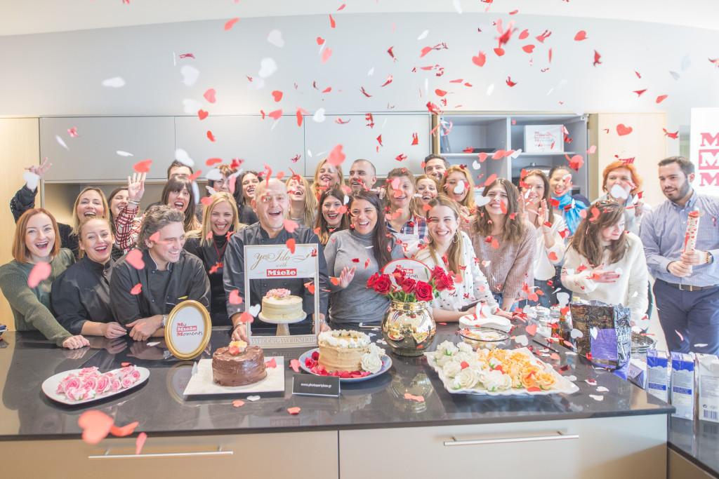 Το τέλος του Wedding Cake Workshop!