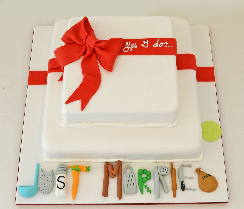 CHEF'S WEDDING CAKE