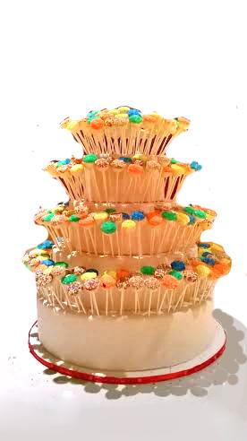POP WEDDING CAKE