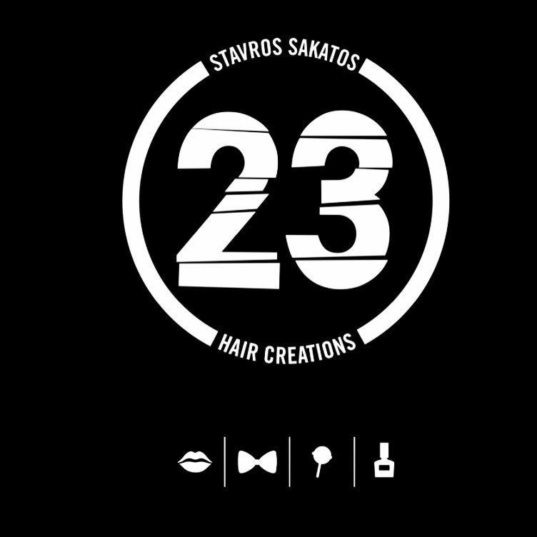 23 hair creations logo