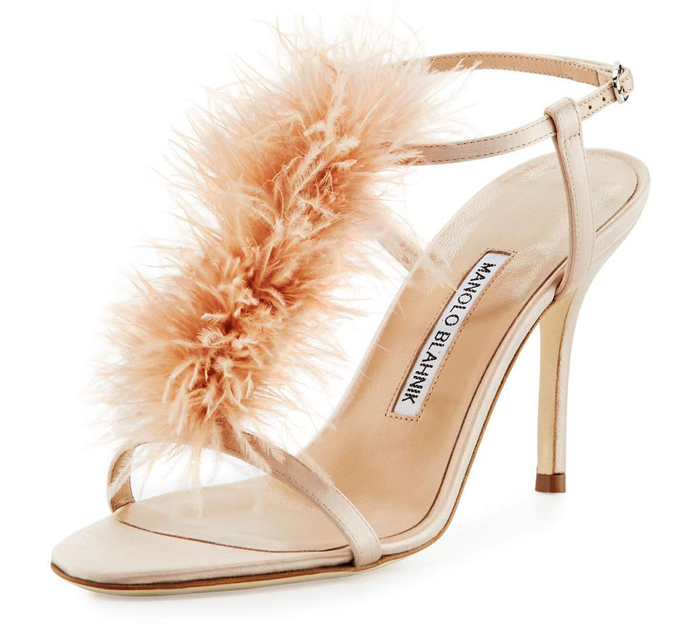 Manolo-Blahnik-Elia-Feather-Sandals