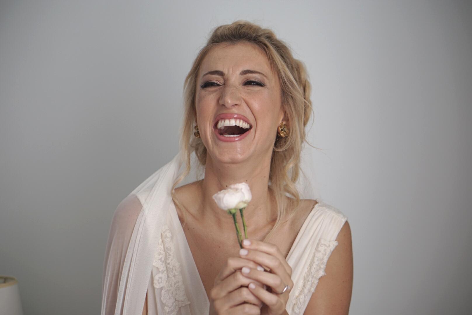 The most happy bride ever!