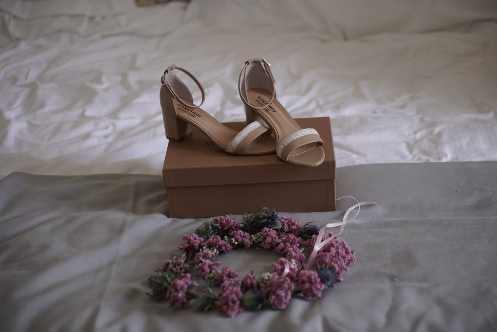 Τhe Workshop bridal shoes!
