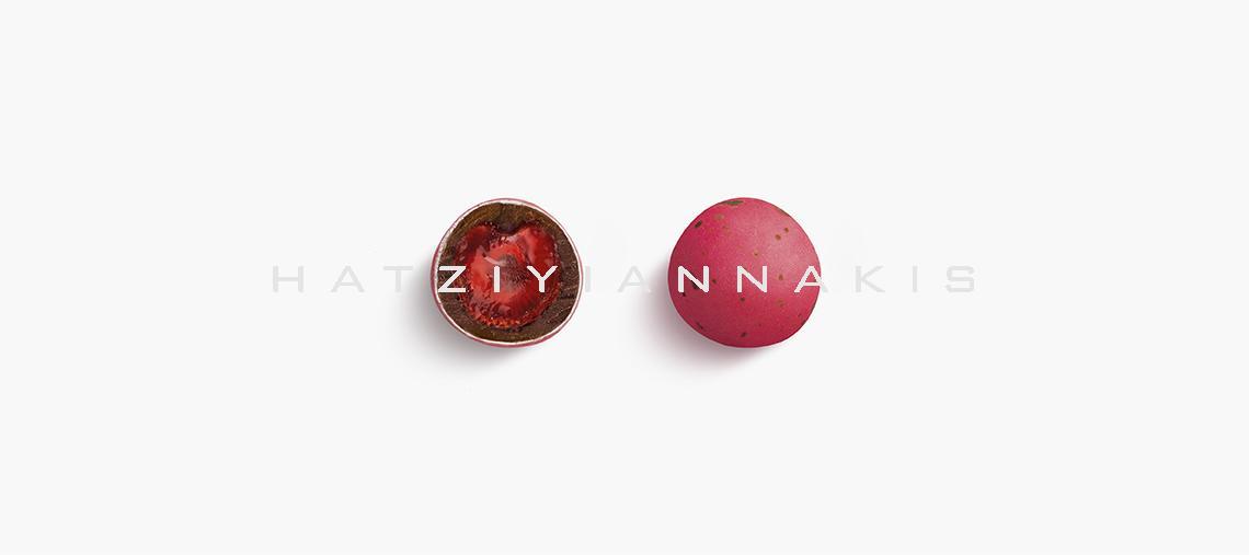 Κουφέτα Ρόδος - Φράουλα / Σοκολάτα