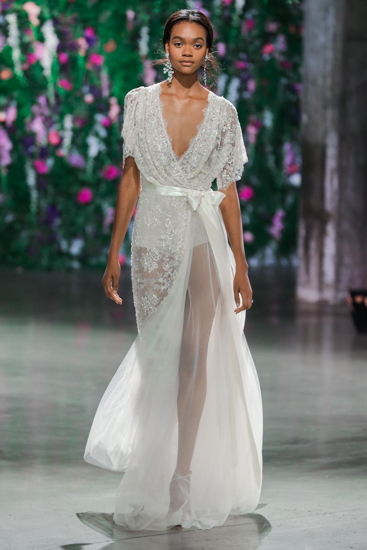 9329bdb55dfd Wrap Dresses  Bridal Trend Report  Summer - Autumn 2018